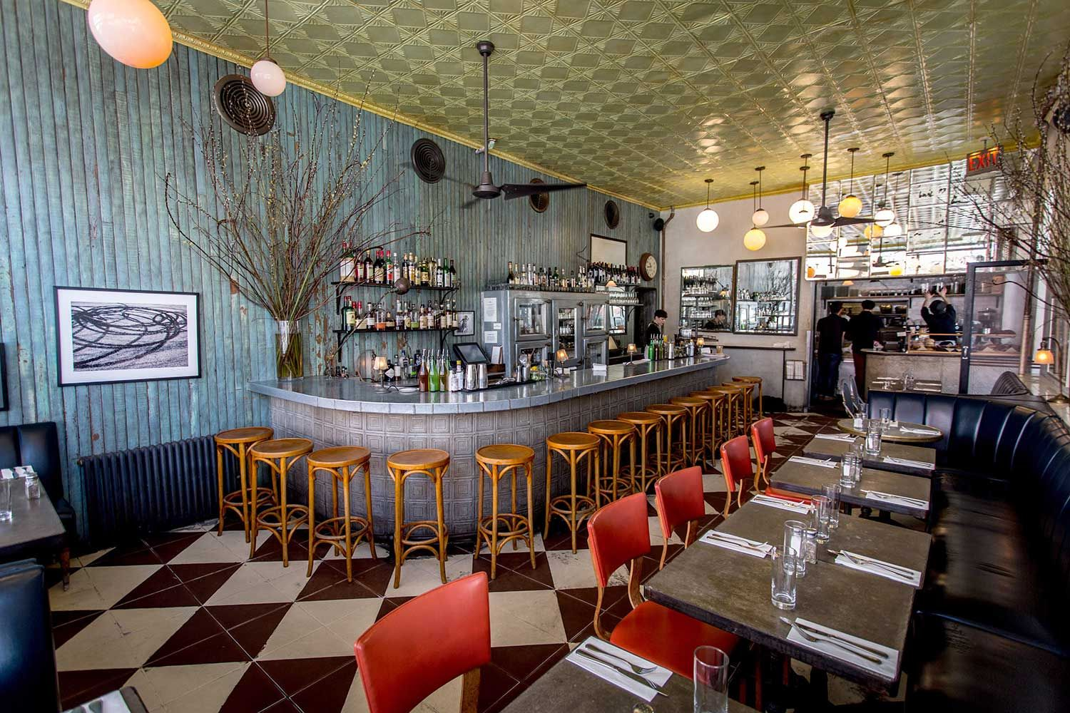 Cafe colette berry st brooklyn ny eclectic restaurant