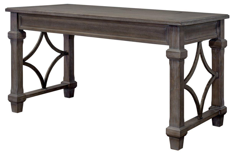 Larissa solid wood desk in 2020 solid wood desk wood