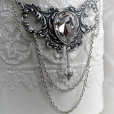 Vintage Ice Choker Necklace