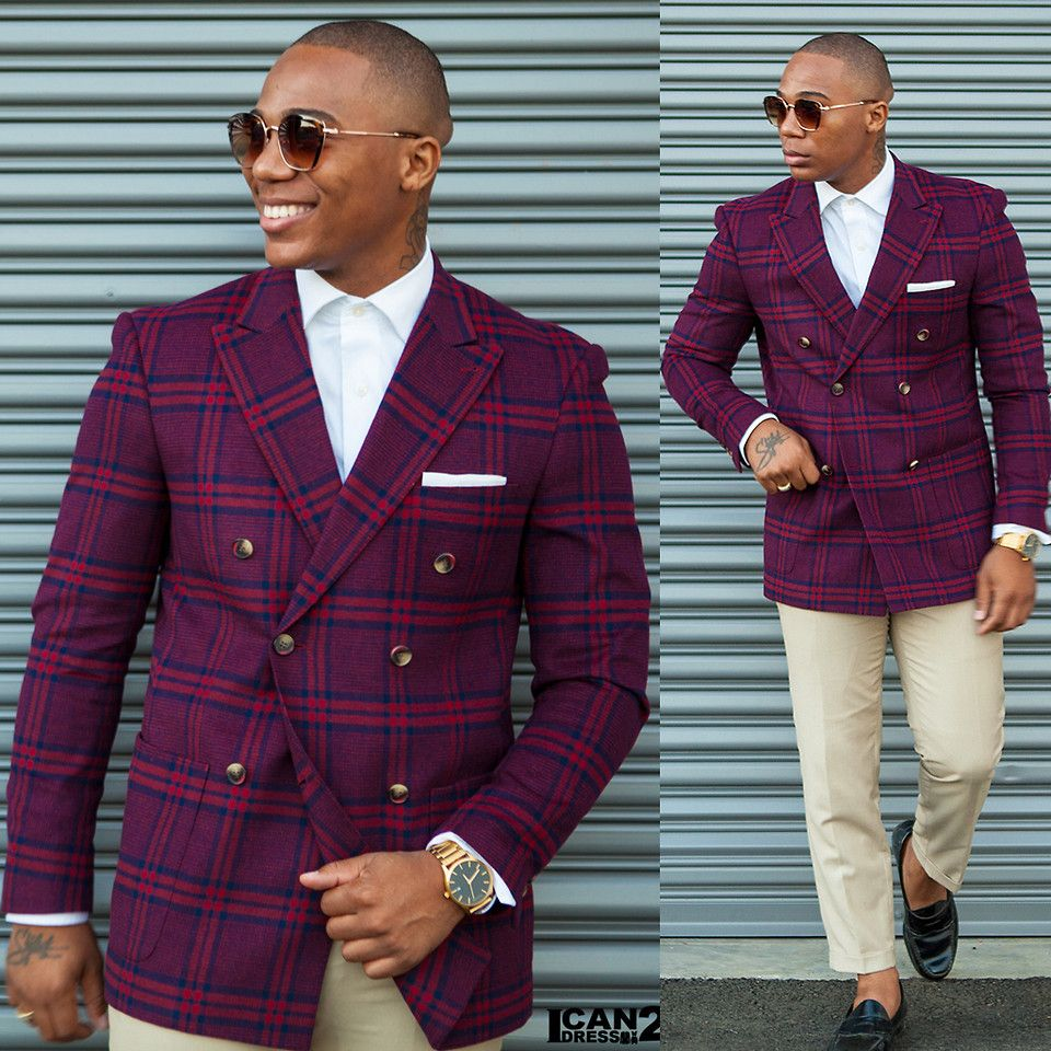 How to Wear a Double-Breasted SuitBlazer picture