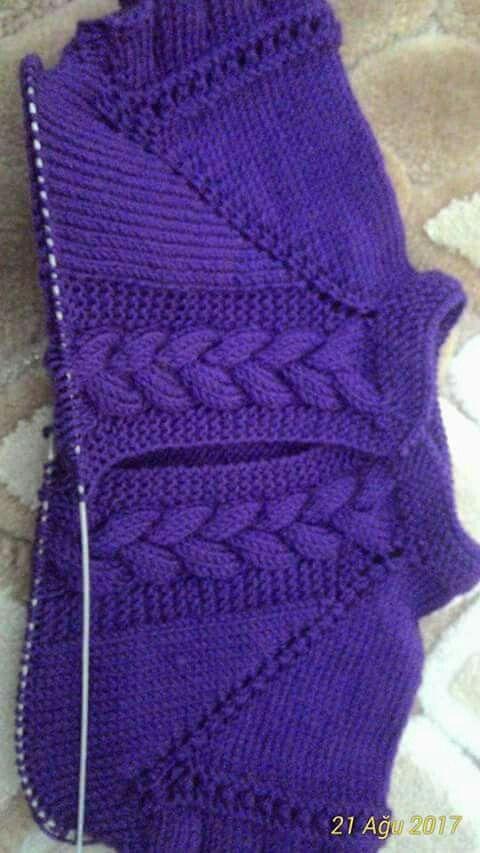 Pin de iveta en pletení | Pinterest | Tejido, Dos agujas y Bebé