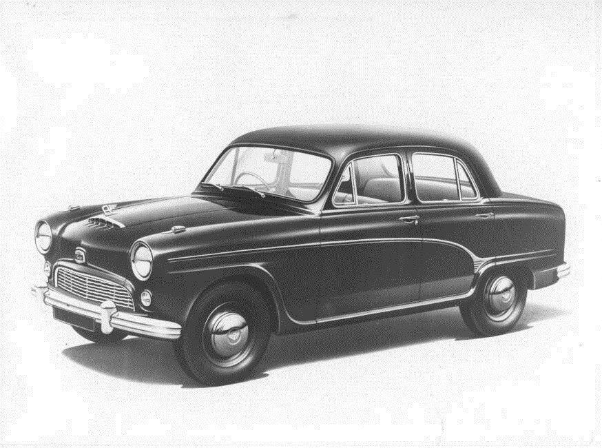 1954 Austin A90 Westminster Original Factory Photo Oub9305 Ebay Klassieke Auto S Auto S