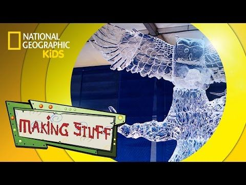 How to Make Ice Sculptures | MAKING STUFF - YouTube