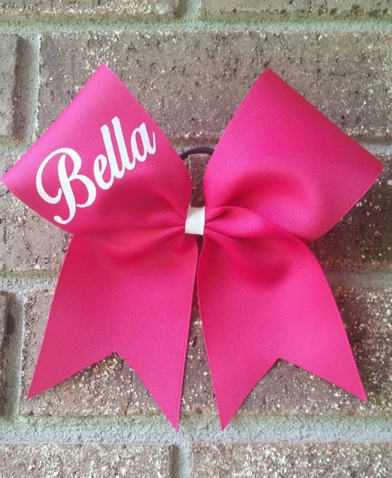 e4f1bfdf3a0a Custom cheer bow