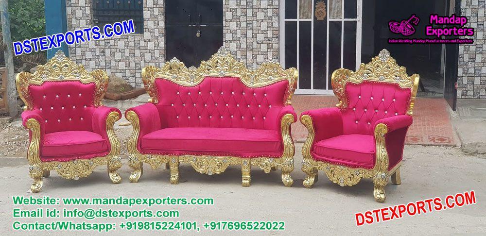 Awe Inspiring Exclusive Wedding Stage Sofa Set Mandapexporters This Inzonedesignstudio Interior Chair Design Inzonedesignstudiocom