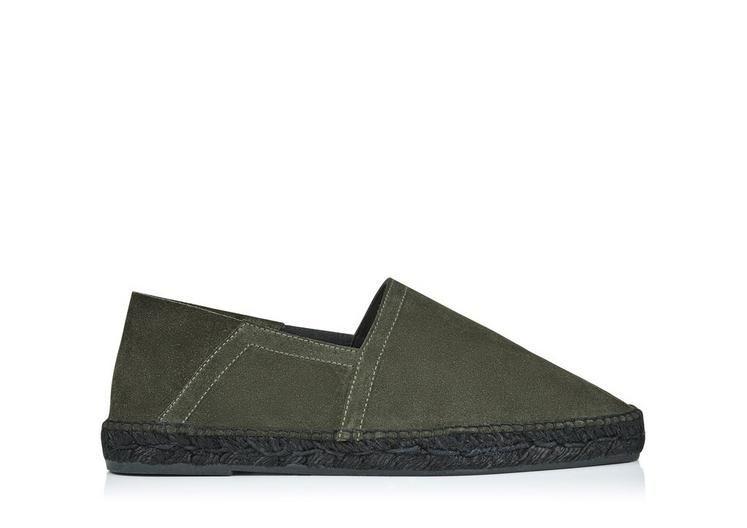 TOM FORD Barnes Suede Espadrille. #tomford #shoes #espadrille