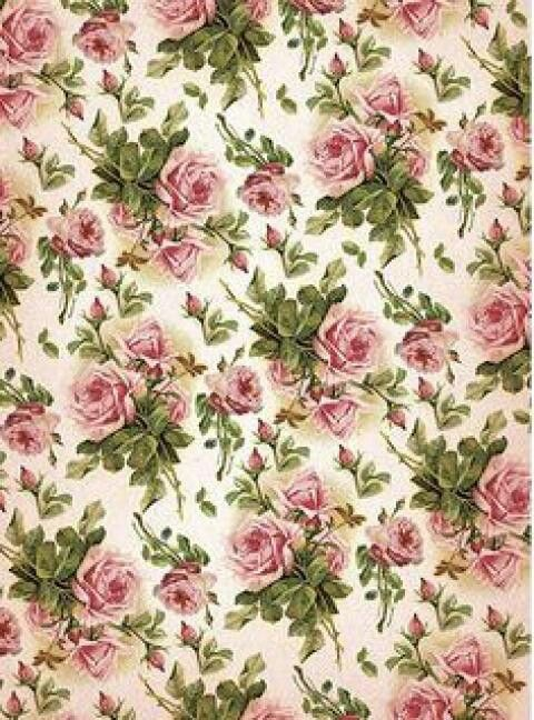Background Beautiful Shabby Chic Vintage Wallpaper Pink Rose Pattern