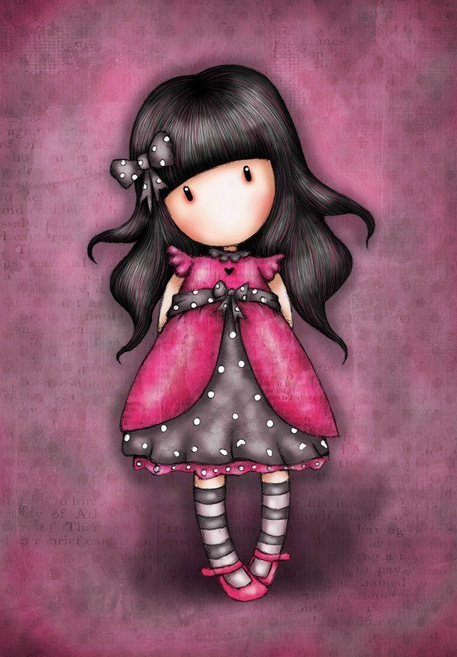 Открытки, рисунки прикольные куклы