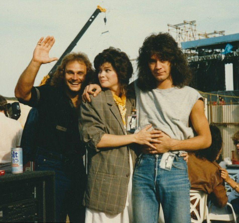 Anthony Valerie Bertinelli And Eddie Eddie Van Halen Van Halen Van Halen 5150