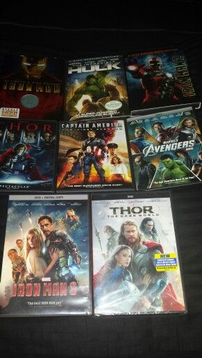 Now I can add Thor: The Dark World to my Marvel Cinematic Universe.