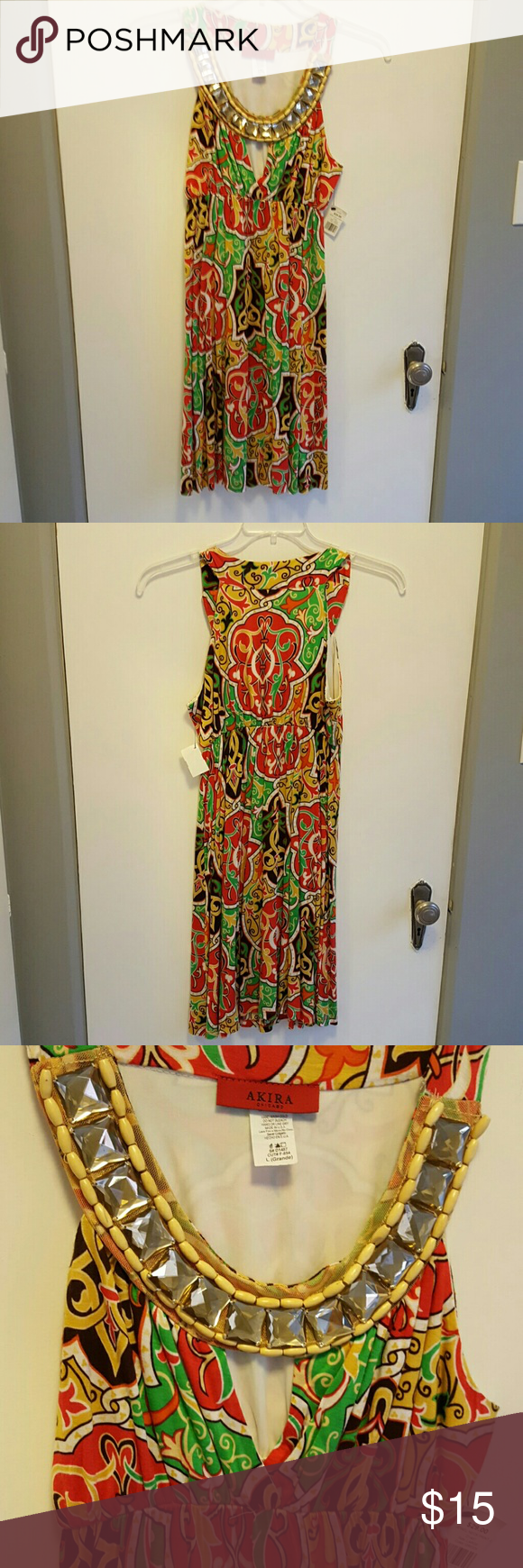 Dress Akira,Chicago, cute dress, never worn.just above the knee. Dresses