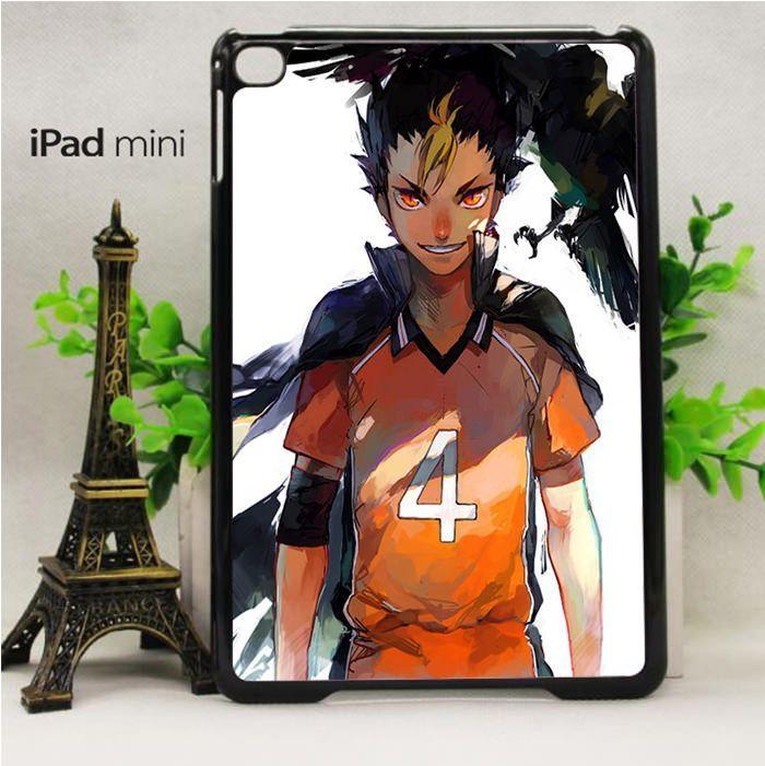 haikyuu nishinoya fanart for custom case iPad Mini 2/ Mini 3/ Mini 4