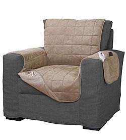 Heated Chair Cover Armchair Slipcover Furniture Slipcovers For