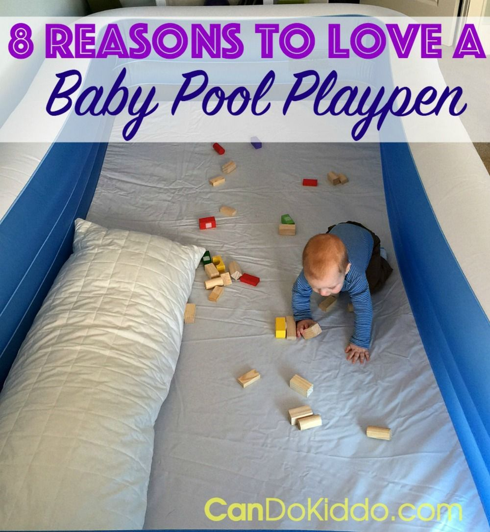 Baby proof queen bed - 8 Reasons To Love A Baby Pool Playpen