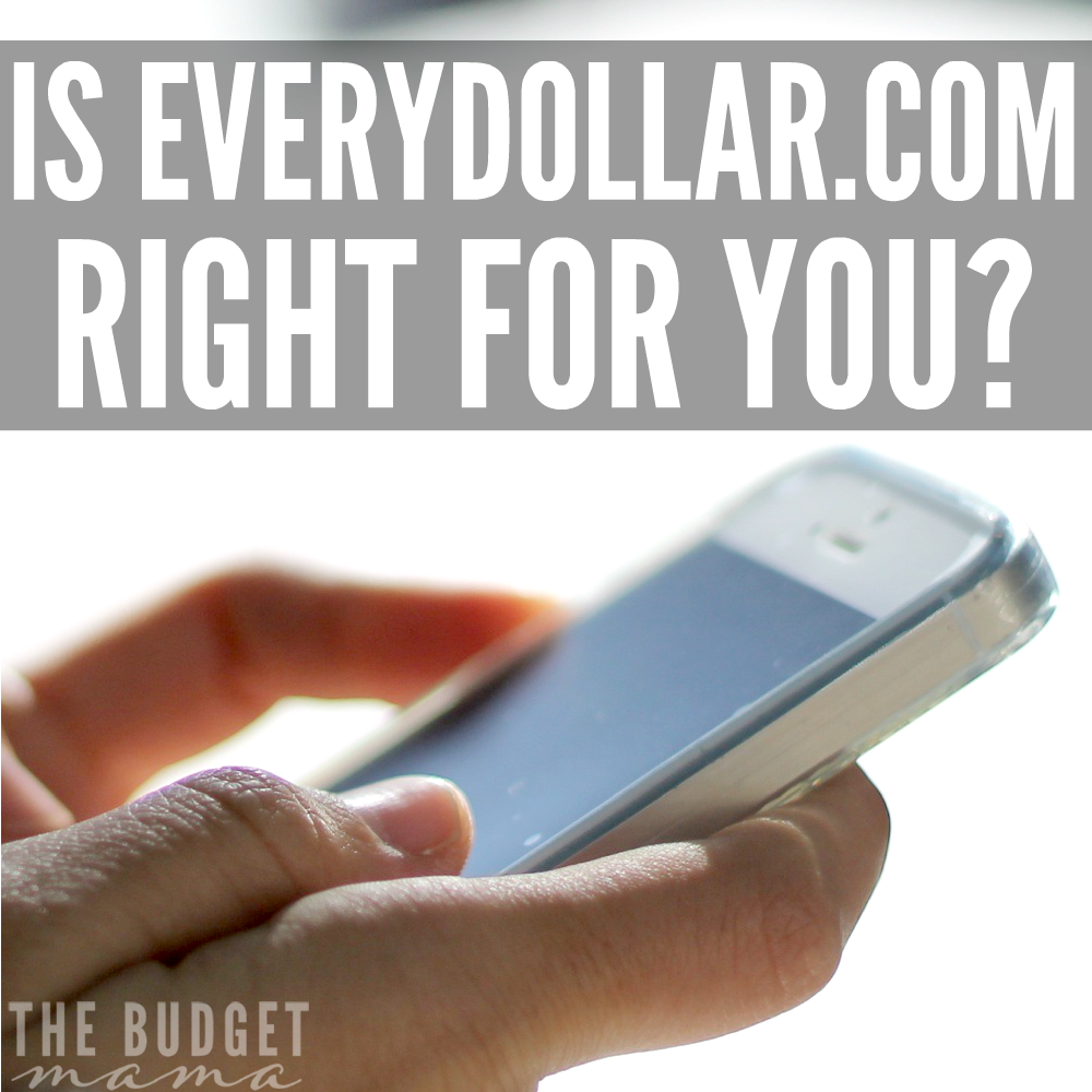 Review of Every Dollar Dave ramsey app, Budgeting