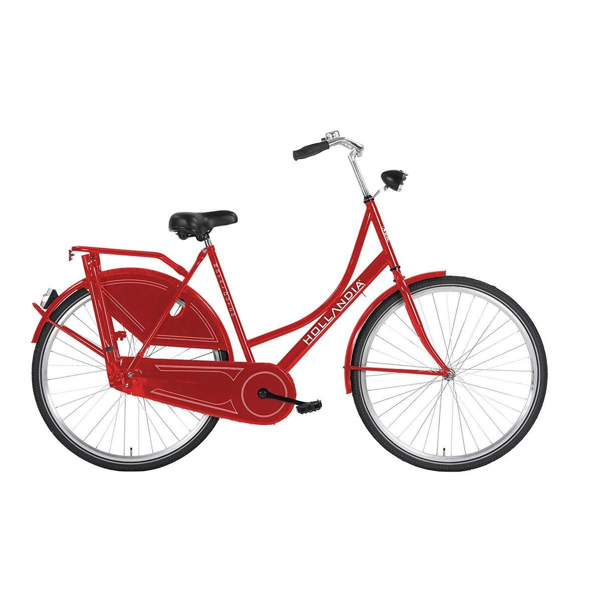Hollandia Royal Dutch Bicycle Single Speed 700c X 22 Inch Red