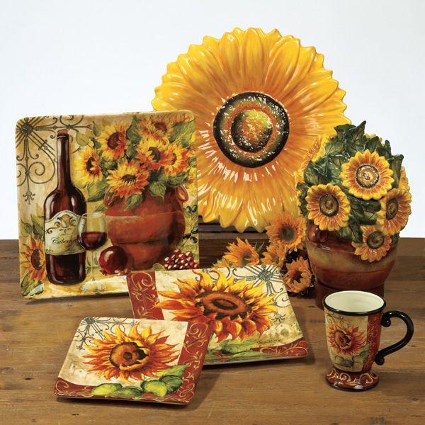 kitchen design tuscan sunflowers - Sunflower Kitchen Design Ideas