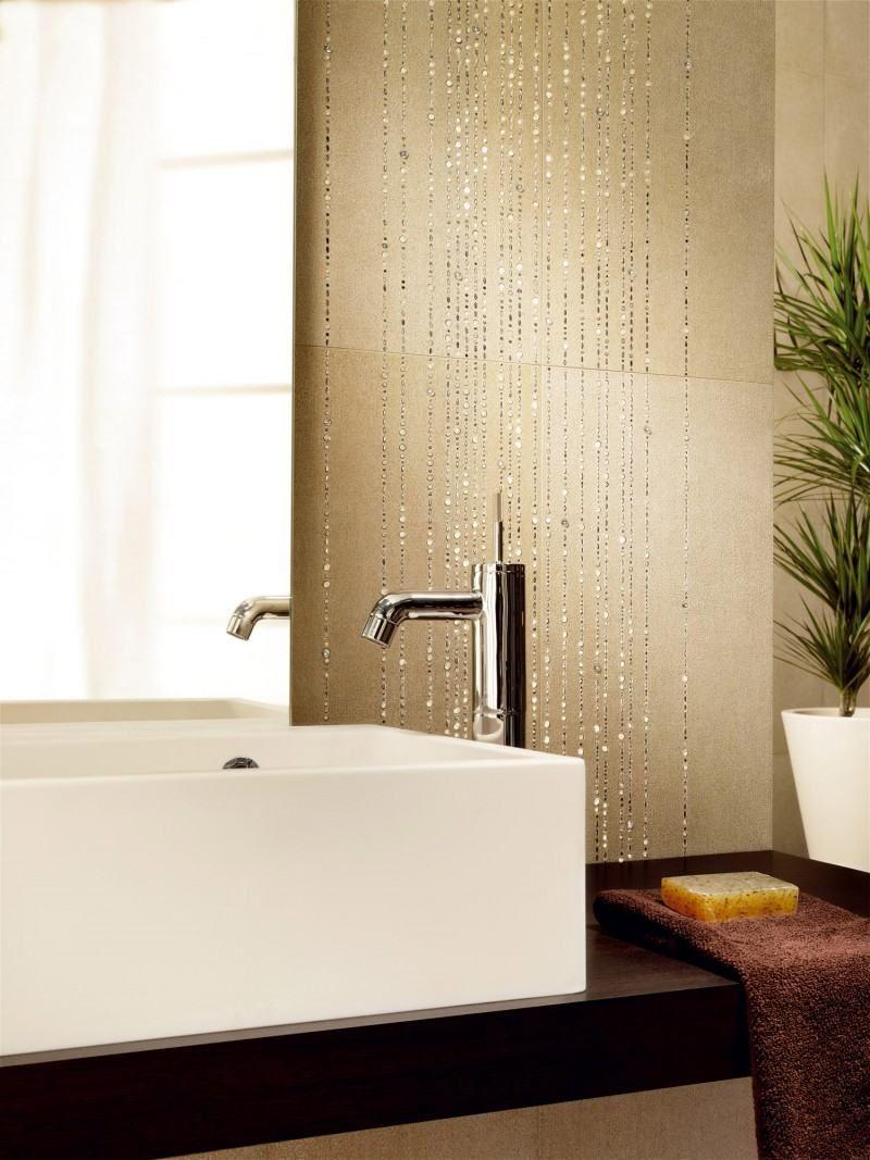 Fliesen mit swarovski Kristallen dekorative akzente | Fliesen Design ...