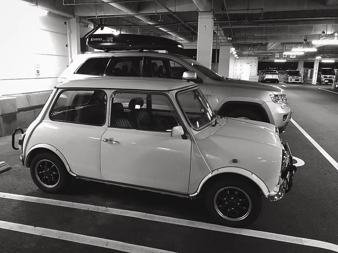 I Couldnt Equip My Terzos Roof Top Box Carrier On My Mini Clubman Because Mini Genuine Roof