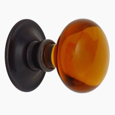 Amber Smooth door knob from Merlin Glass | Art | Pinterest | Door ...