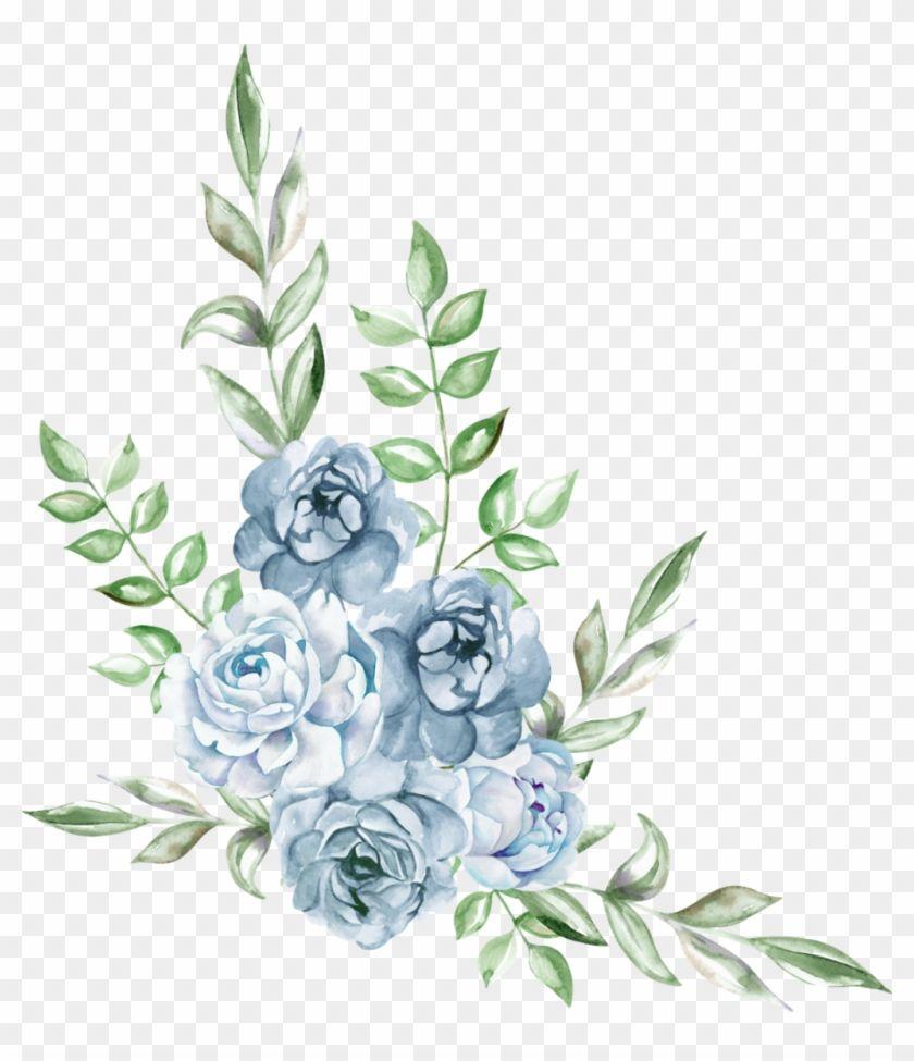 Find Hd Freetoedit Ftestickers Watercolor Blue Rose Cluster Flower Png Watercolor Blue Blue Flower Png Blue Flower Wallpaper Vintage Flowers Wallpaper