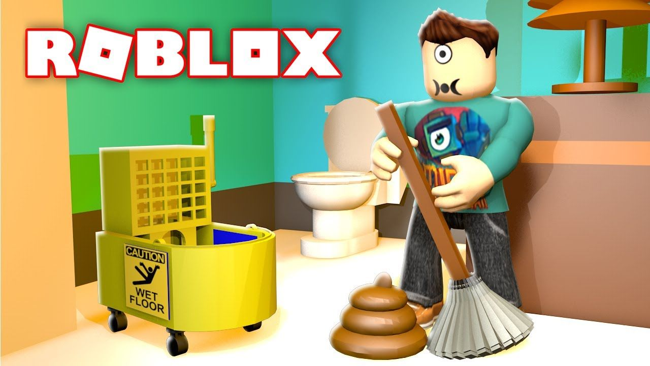 Cleaning Simulator In Roblox Microguardian Youtube