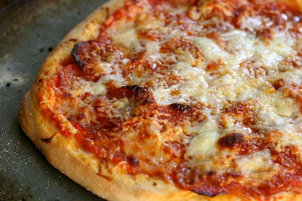Pizza Dough:  This made a yummy pizza hut-like crust.  I topped it like their cheese sticks and it was surprisingly similar- really hit my prego crave!  Hubby and I both agreed that for pizza we still prefer the focaccia dough I normally use yet this was still a great crust being similar to what you get at a pizza chain.