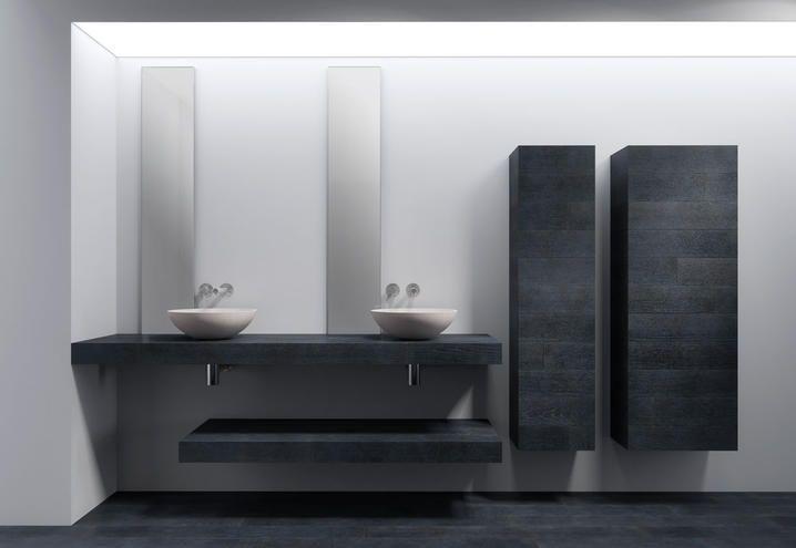 Soluzioni Bagno ~ Progetto bagno novità itlas due mensole e due colonne bathroom