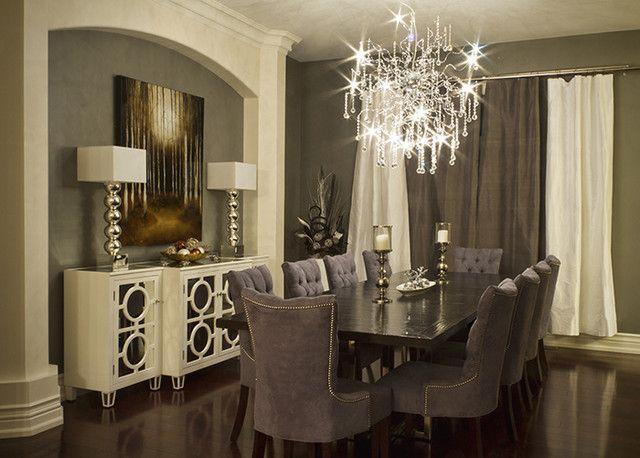Tips For Decorating An Elegant Dining Room Modern Dining Room