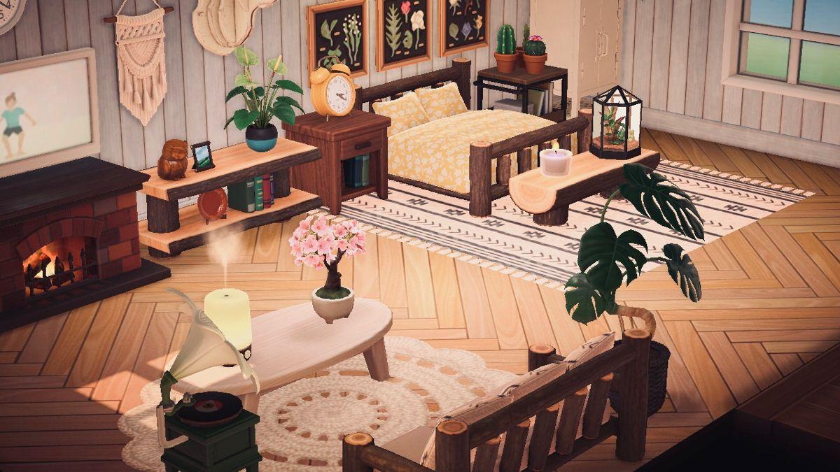 Animal Crossing Bedroom Animal Crossing New Animal Crossing Log Bedroom Furniture
