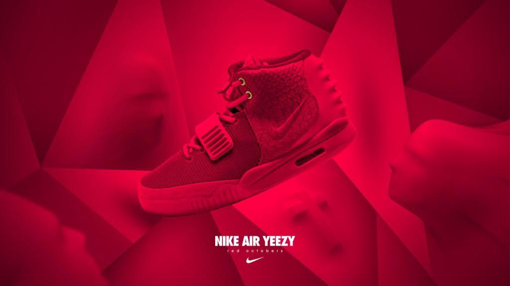 Yeezy II RO | Air yeezy, Nike air, Red