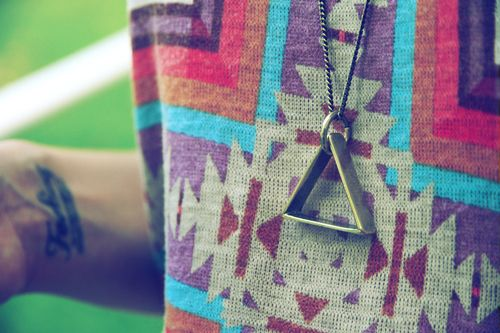 Aztec sweater, matching to our Aztec cases. #EqualsMe #Aztec #Fashion