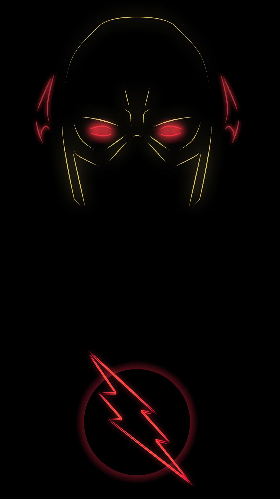 The Reverse Flash Neon Wallpaper Flash Comics Reverse Flash