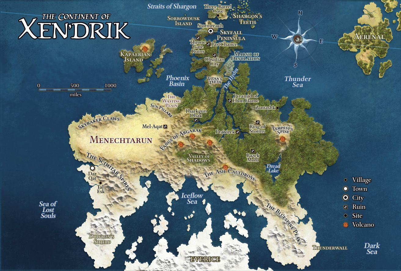 Elegant Http://brennor.dyndns.org/~steve/Eberron/Stormreach/Map XenDrik