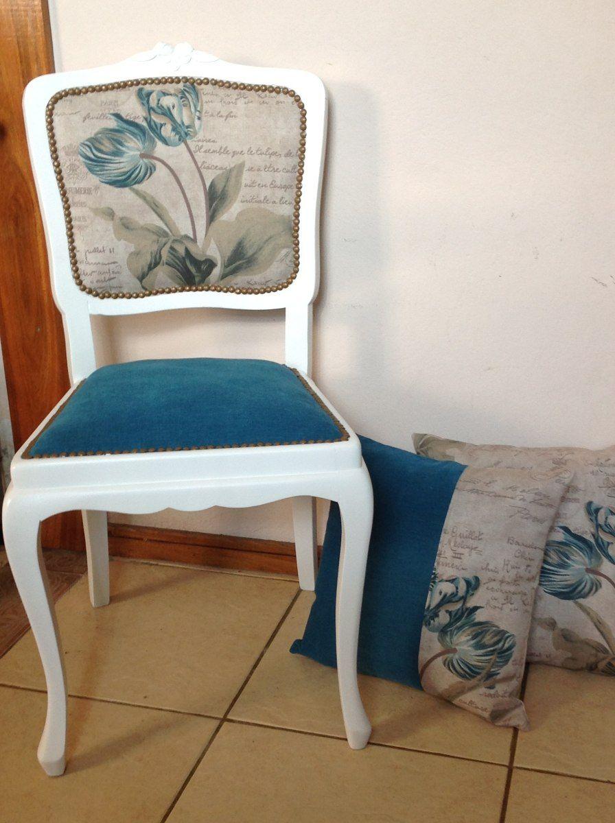 Sillas estilo frances restauradas en mercadolibre muebles patinados pinterest - Sillas antiguas restauradas ...