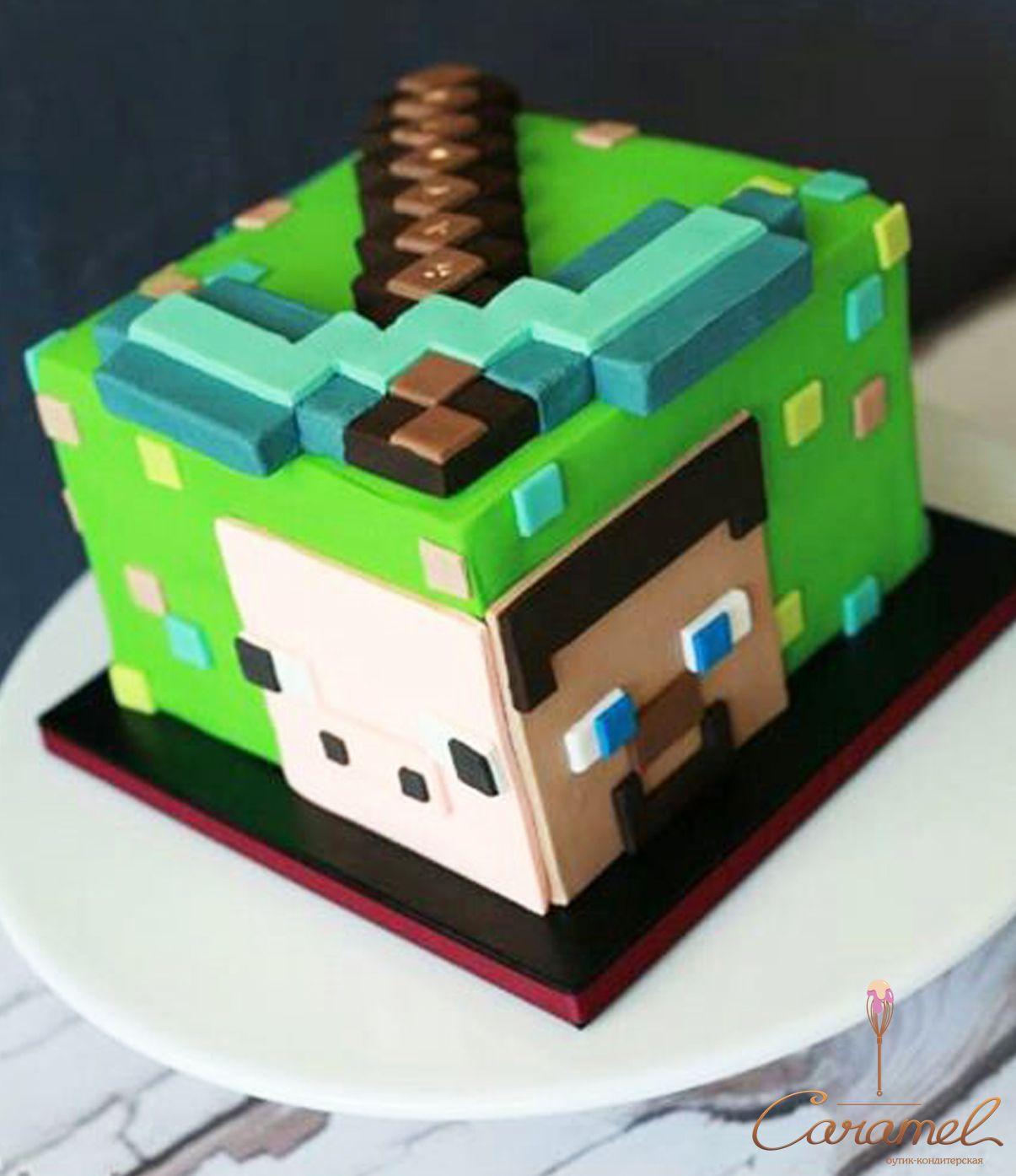 торт в майнкрафт #10