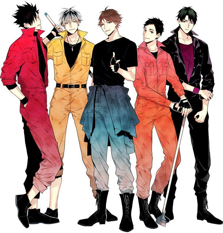 SMA Haikyuu Haikyuu, Seni manga, Manga
