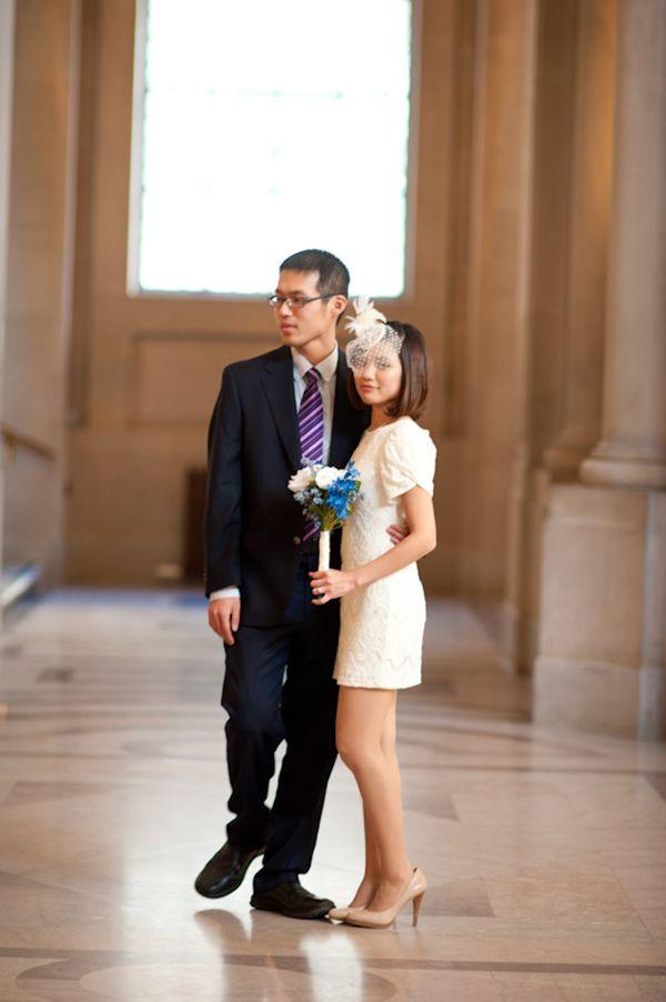 1ecfb5f70ec City Hall Wedding Attire