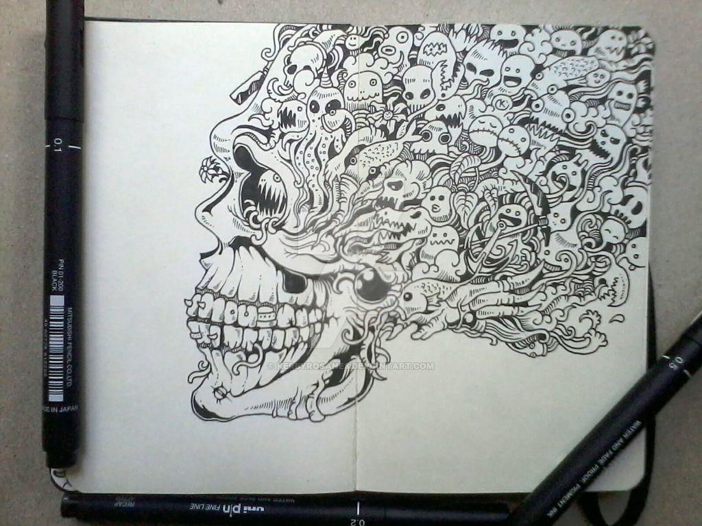 Coloriage Doodle