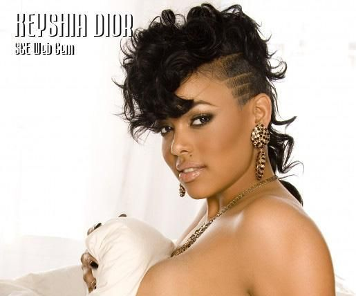 Keyshia Dior Hairstyle - Black