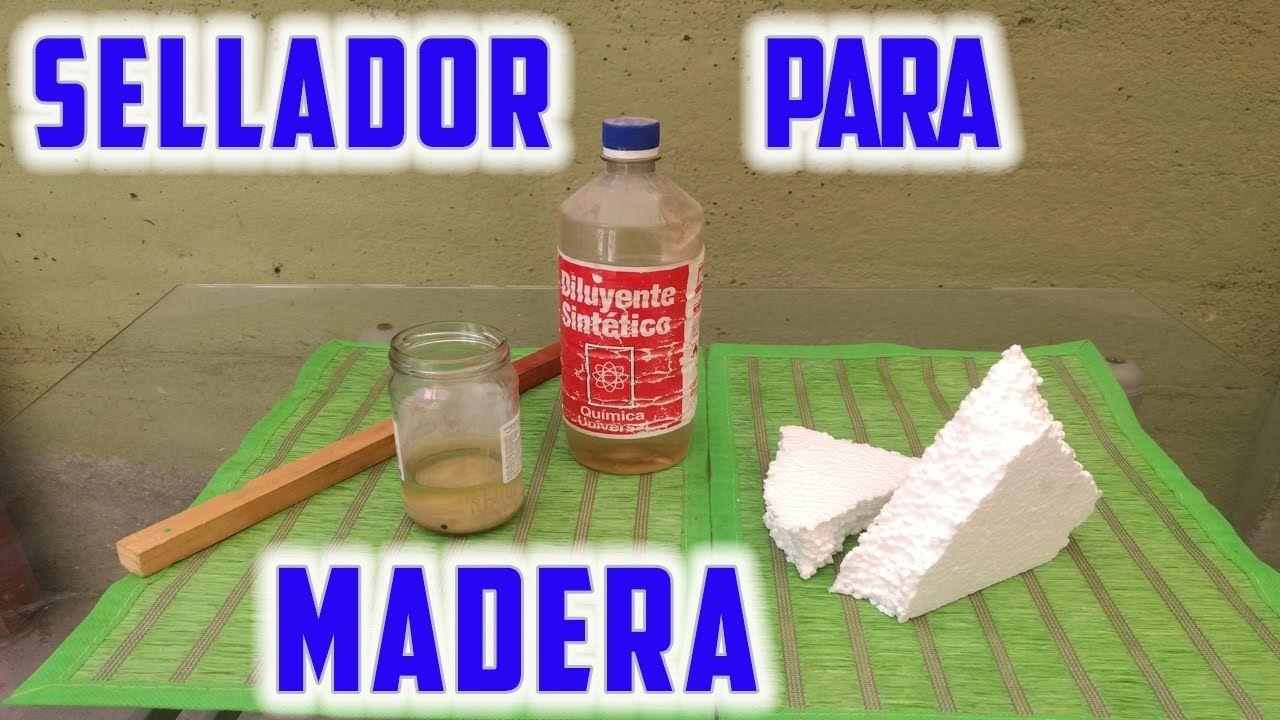 Sellador Para Madera | A pintar | Pinterest | Madera, Pintar y Utiles