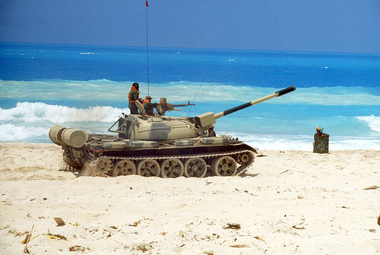 Egyptian T55 Battle tank, Military, Tank