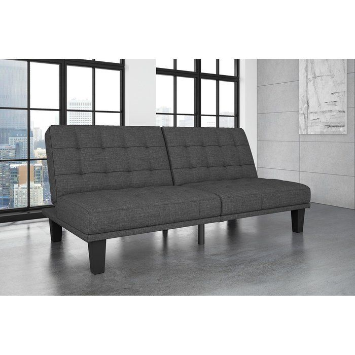 Haysi Futon Lounger Convertible Sofa Mad S Room