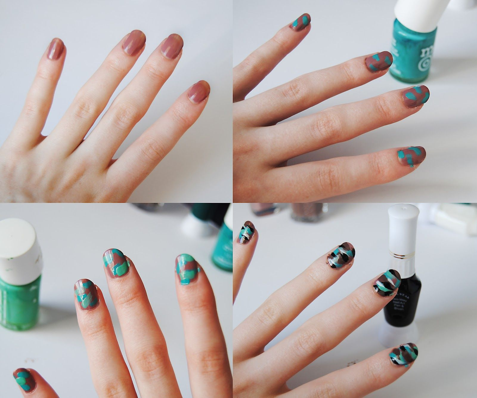 How to diy camo nails camo nails diy camo nails this fashion is mine solutioingenieria Gallery