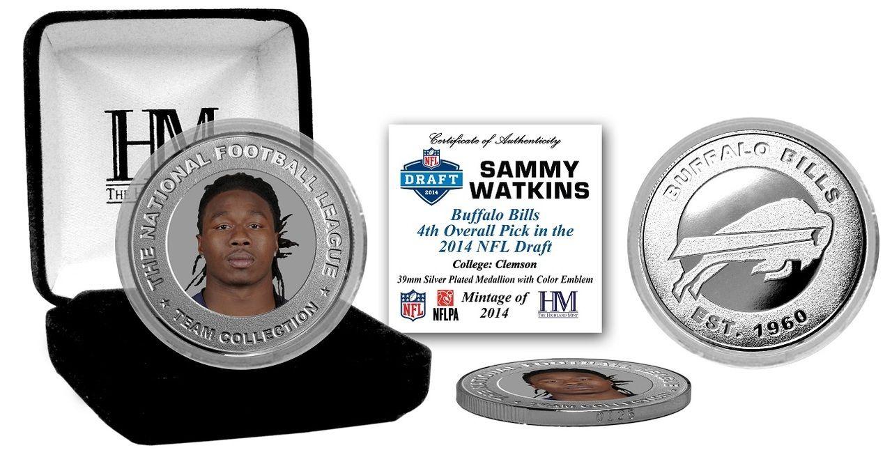 AAA Sports Memorabilia LLC Sammy Watkins Buffalo Bills