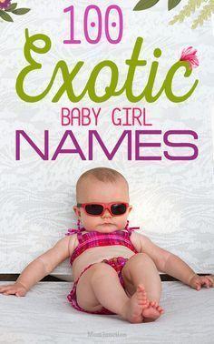 Mädchennamen Exotisch