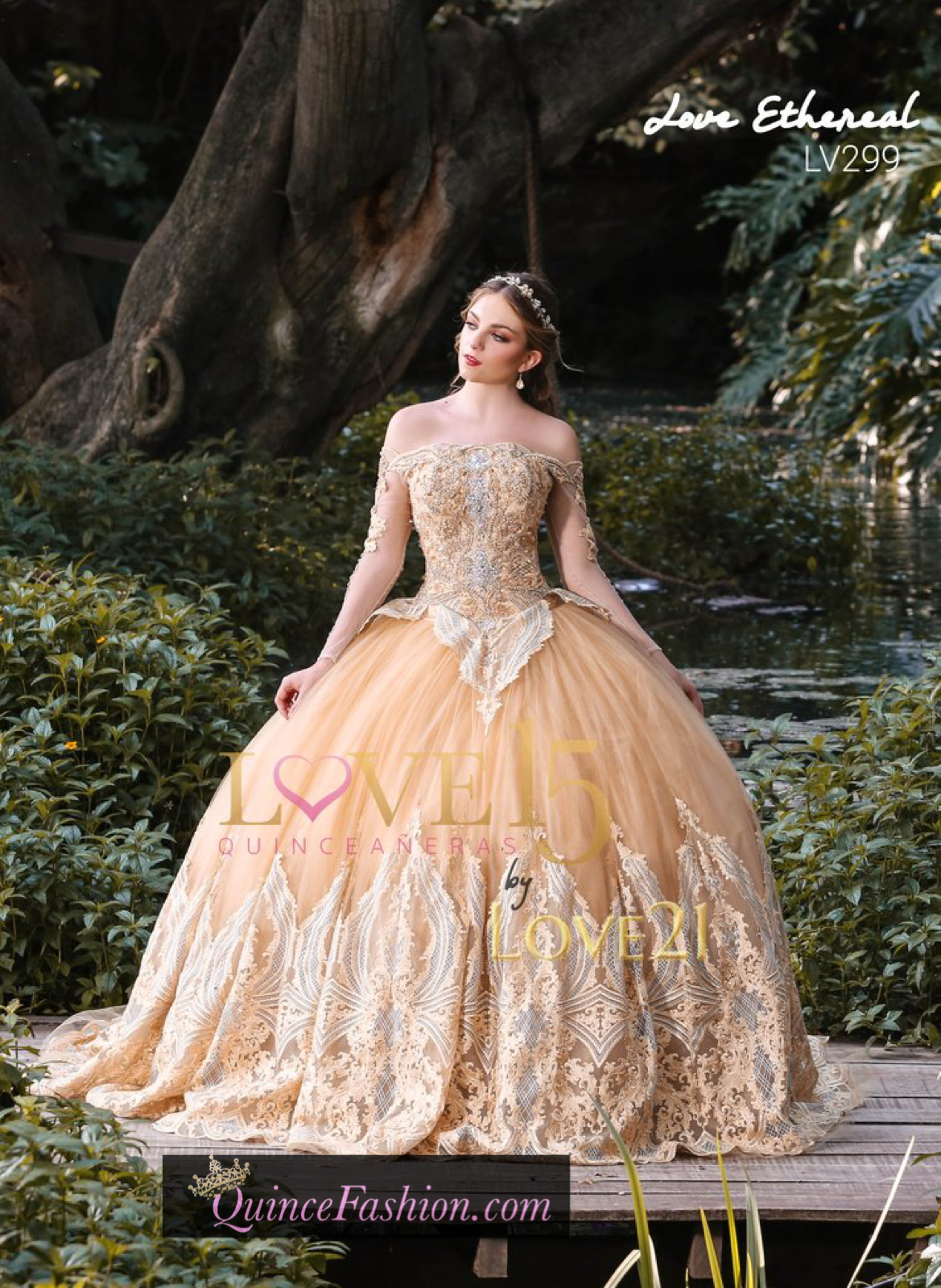 f302260d7c8 Quinceañera dress LV299 Love 21