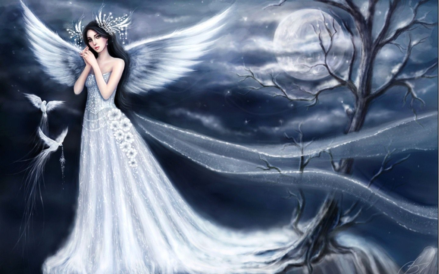 The White Angel Wallpaper Background 28052 Angel Wallpaper Fairy Wallpaper Angel Pictures