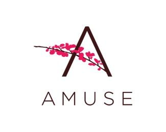 very nice logo i like the pink colour on the black and also how