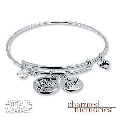 Charmed Memories Love Bangle Bracelet Sterling Silver VqAFeAYMzs